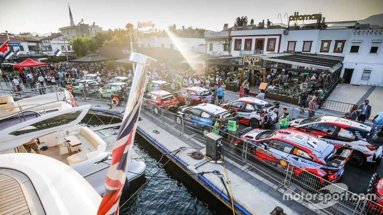 WRC cars at Rally Turkey 2019
