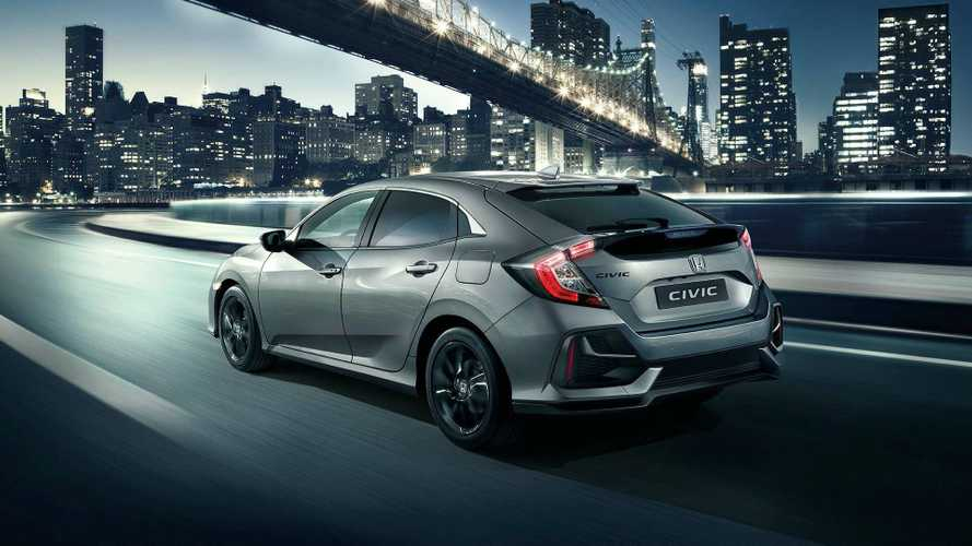 Honda Civic 2020, restyling