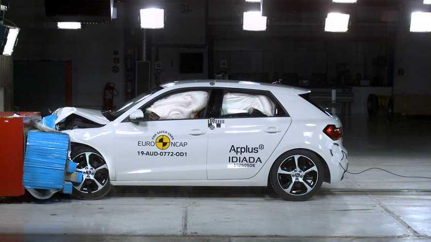 Euro NCAP, 5 stelle per sette