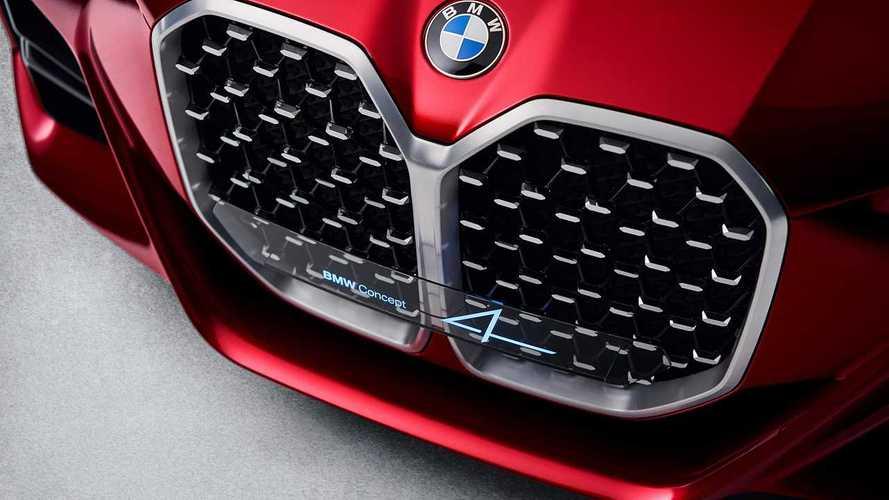 BMW'nin böbrek ızgarası, elektrikli gelecekte de bizlerle olacak