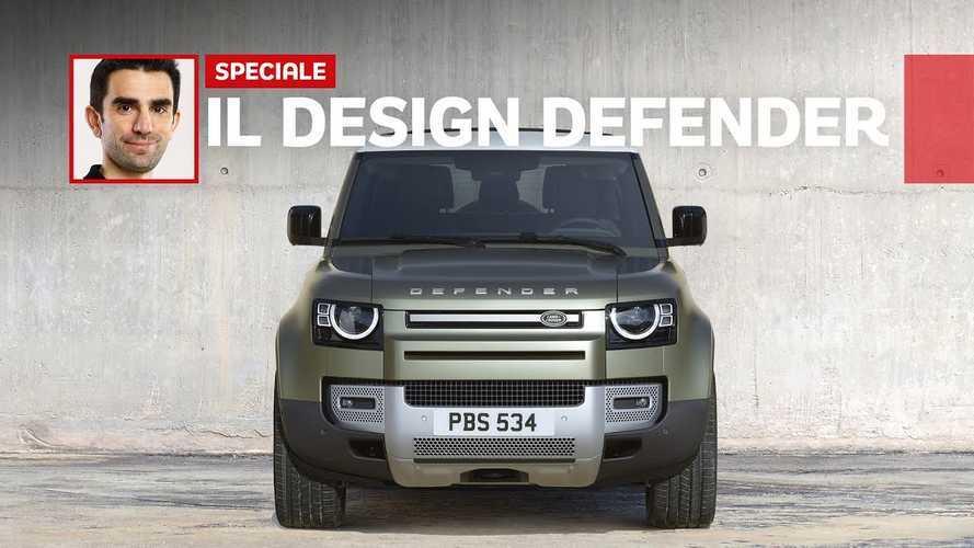 Come nasce il design della nuova Land Rover Defender