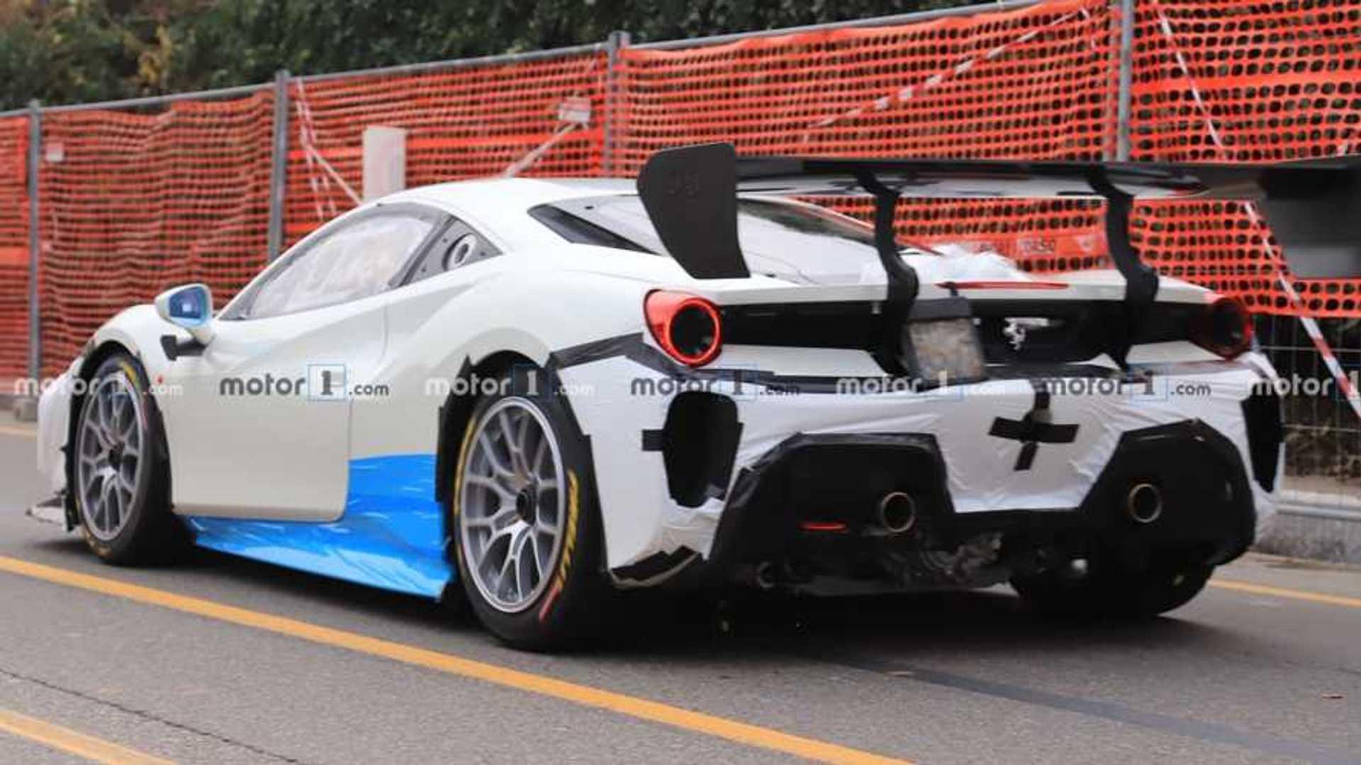 Wild Ferrari Prototype Spied By Motor1.com Reader