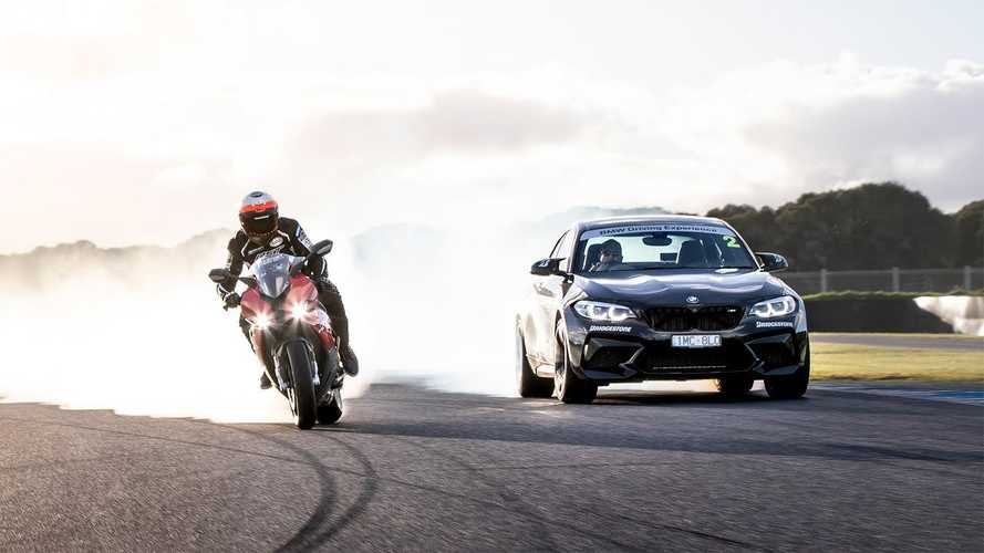 BMW Pits Cars Against Bikes In The Track Day Event Of The Year