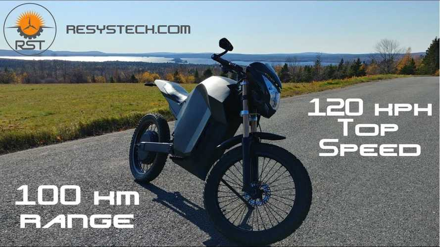 Why Not Build Your Own Electric Motorcycle?