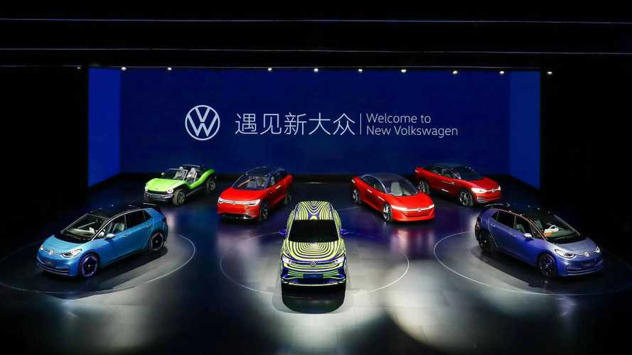 VW ID.4 teasers