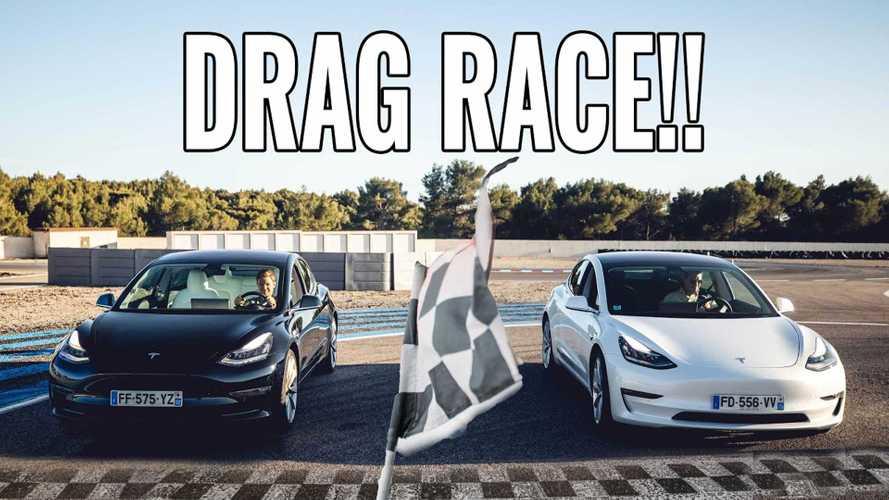 Nico Rosberg alaposan meghajtotta a Tesla Model 3-at