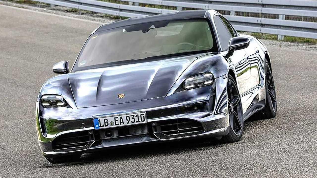 Porsche Taycan Colors