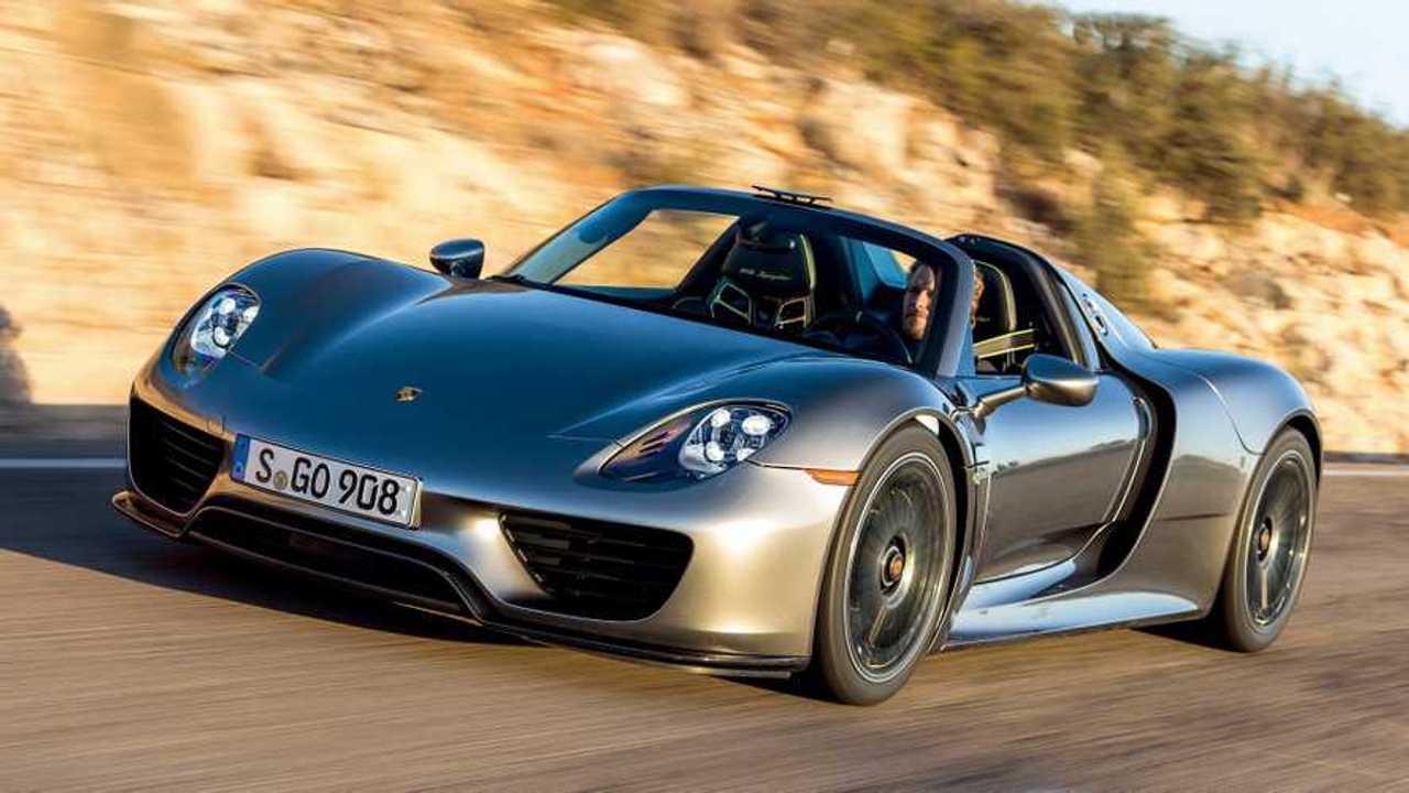 1. Porsche 918 Spyder 2015