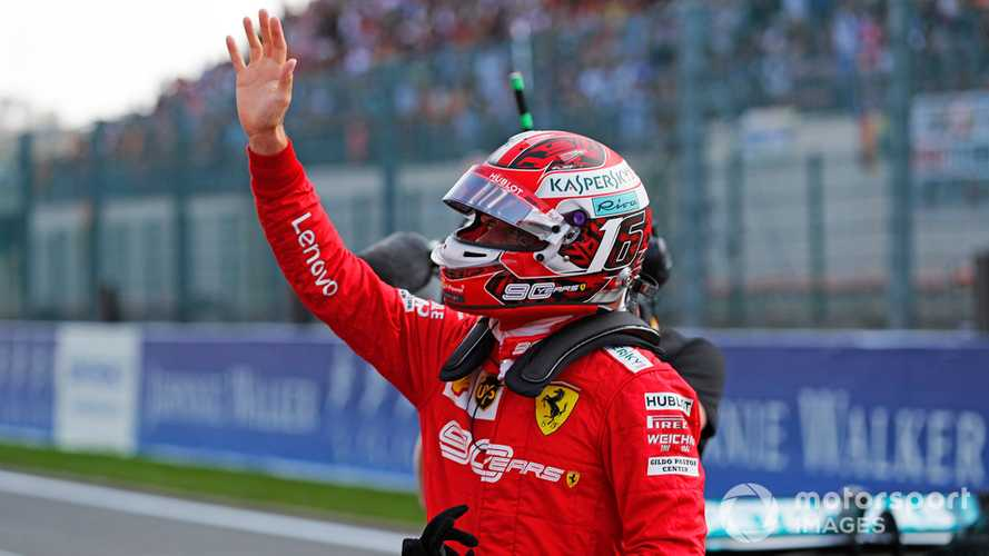 Belgian GP: Leclerc beats Vettel to pole by 0.7s