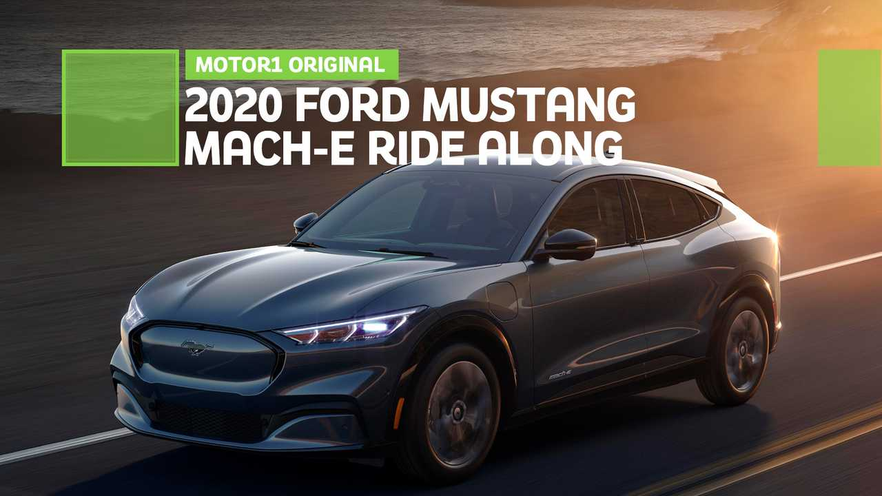 2020 Ford Mustang Mach-E: Ride Along