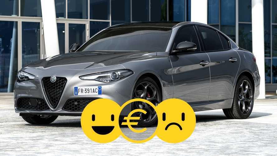 Promozione Alfa Romeo Giulia, perché conviene e perché no
