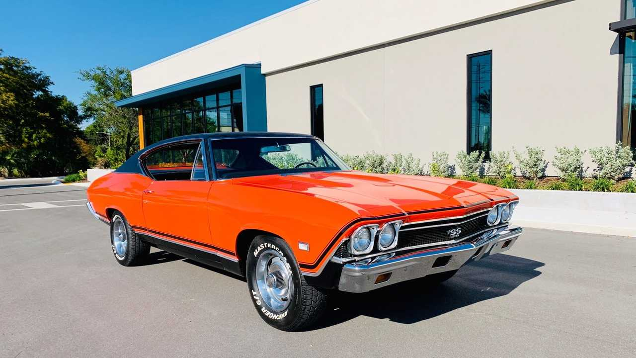 Steal The Show With This Gorgeous 1968 Chevy Chevelle Tribute