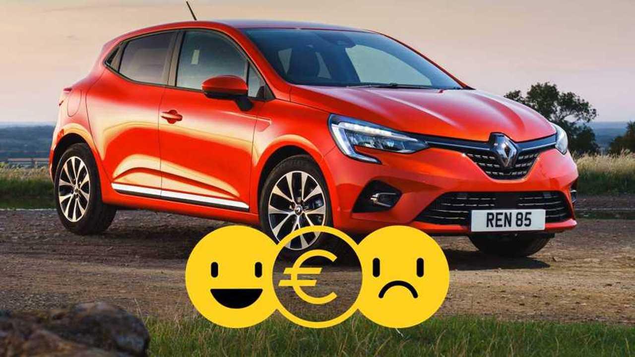 Renault Clio à 129 €/mois