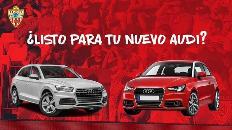 ¿Quieres conseguir un Audi gratis? El Almería los está regalando