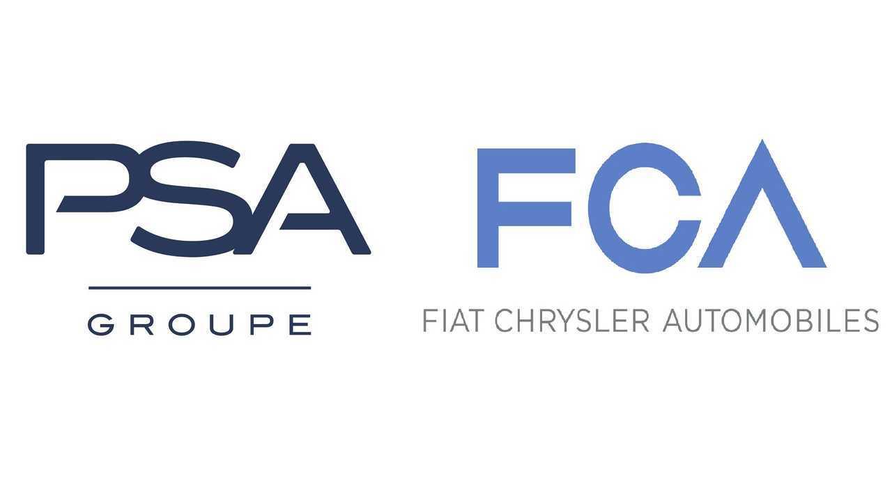 PSA-FCA logos