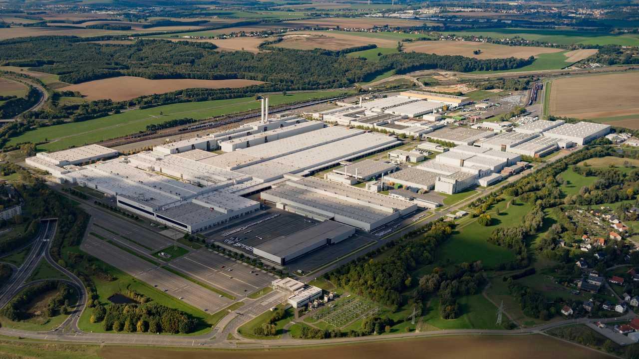 Volkswagen's Zwickau plant