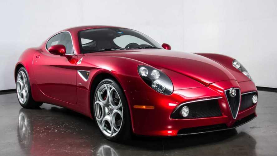 Snatch An Exotic 2008 Alfa Romeo 8C Competizione