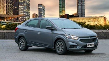 Chevrolet Joy Plus atualiza design e mata o nome Prisma