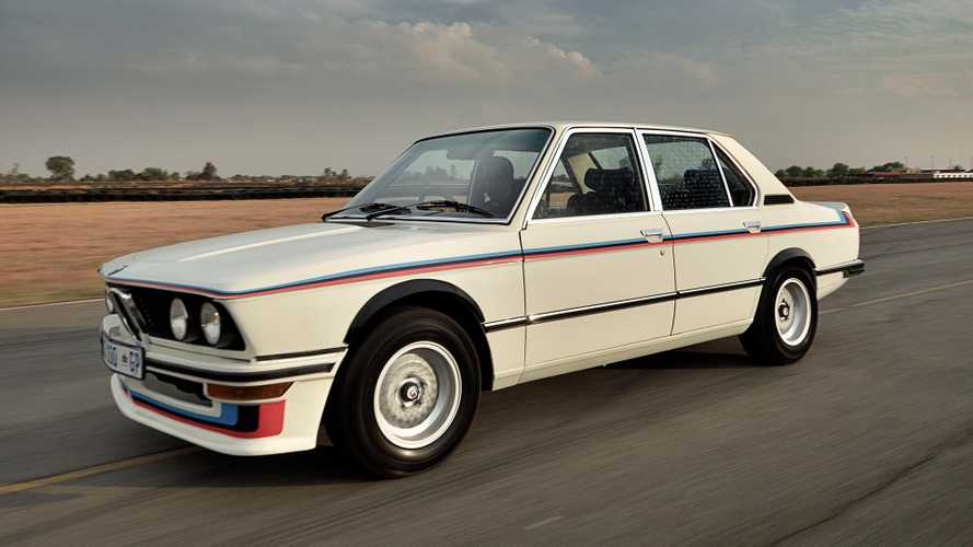 BMW beautifully restores the rare 530 MLE from the 1970s