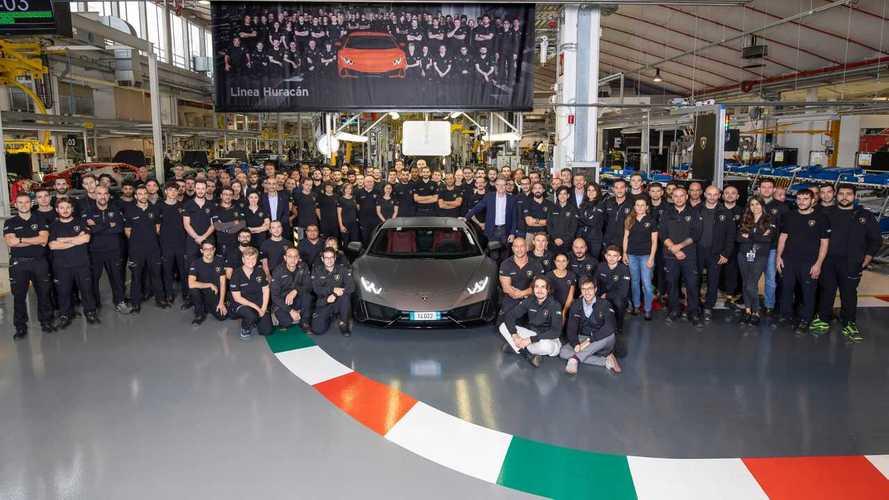 Lamborghini a produit plus d'Huracan en 5 ans... que de Gallardo en 10 !