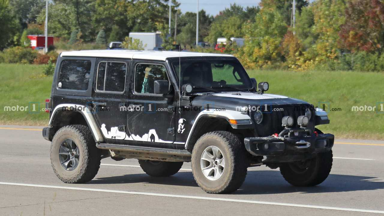 Jeep Wrangler Stormtrooper Edition