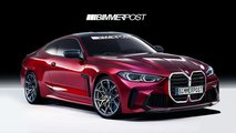 bmw m4 coupe convertible renderings