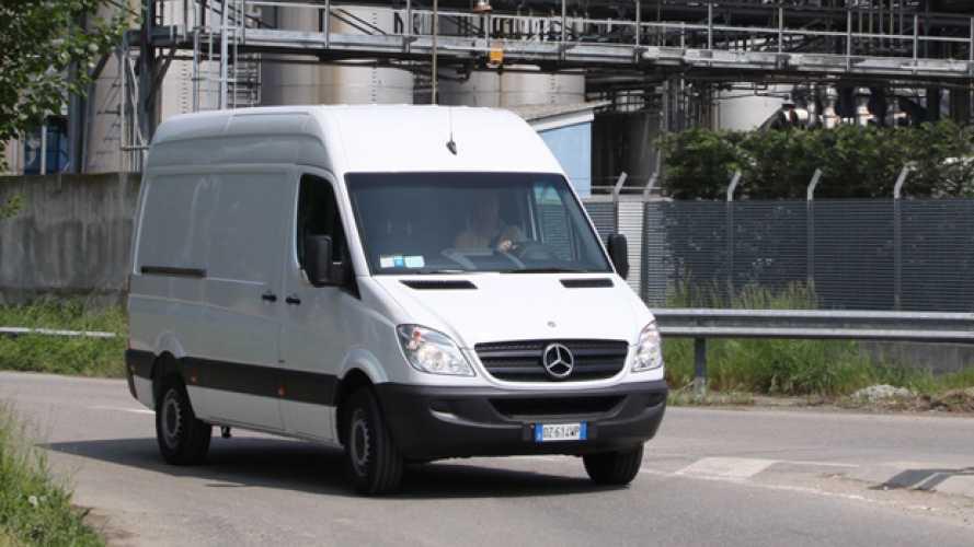 Mercedes Sprinter 310 CDI, la prova