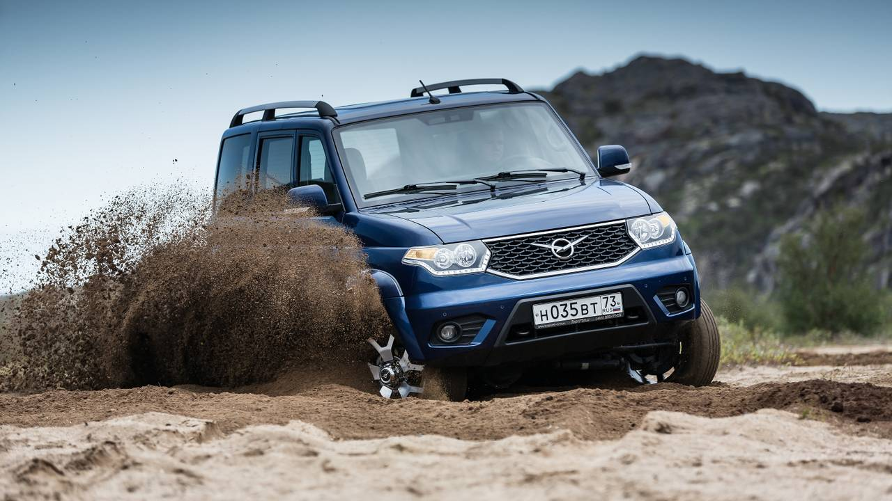 UAZ Patriot (2019) im Test
