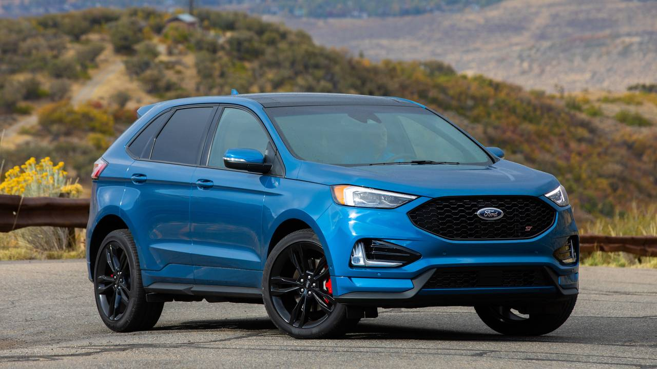 2019 ford edge st first drive honing the edge. Black Bedroom Furniture Sets. Home Design Ideas