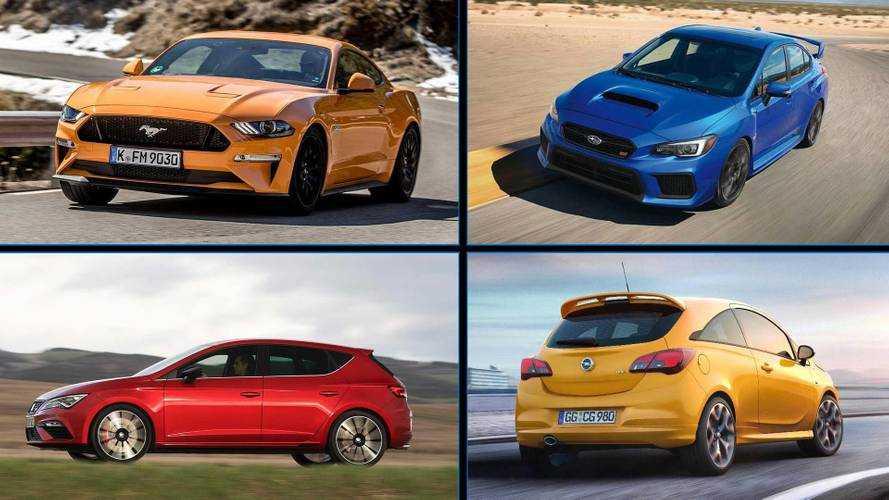 8 coches potentes por precios muy interesantes
