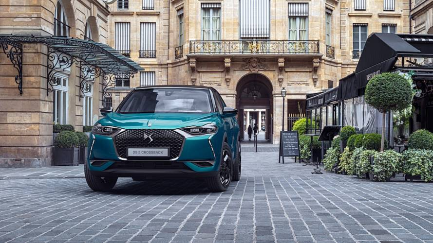 2019 DS 3 Crossback SUV revealed, full EV version coming