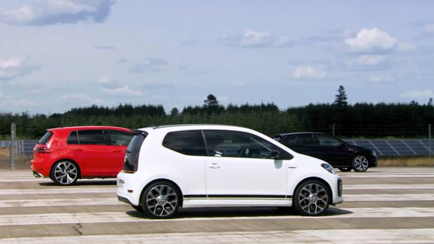 Kardeş Rekabeti: VW Golf GTI vs. Polo GTI vs. Up! GTI
