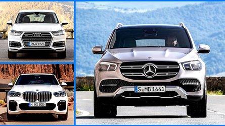 Der Mercedes GLE und seine Konkurrenten