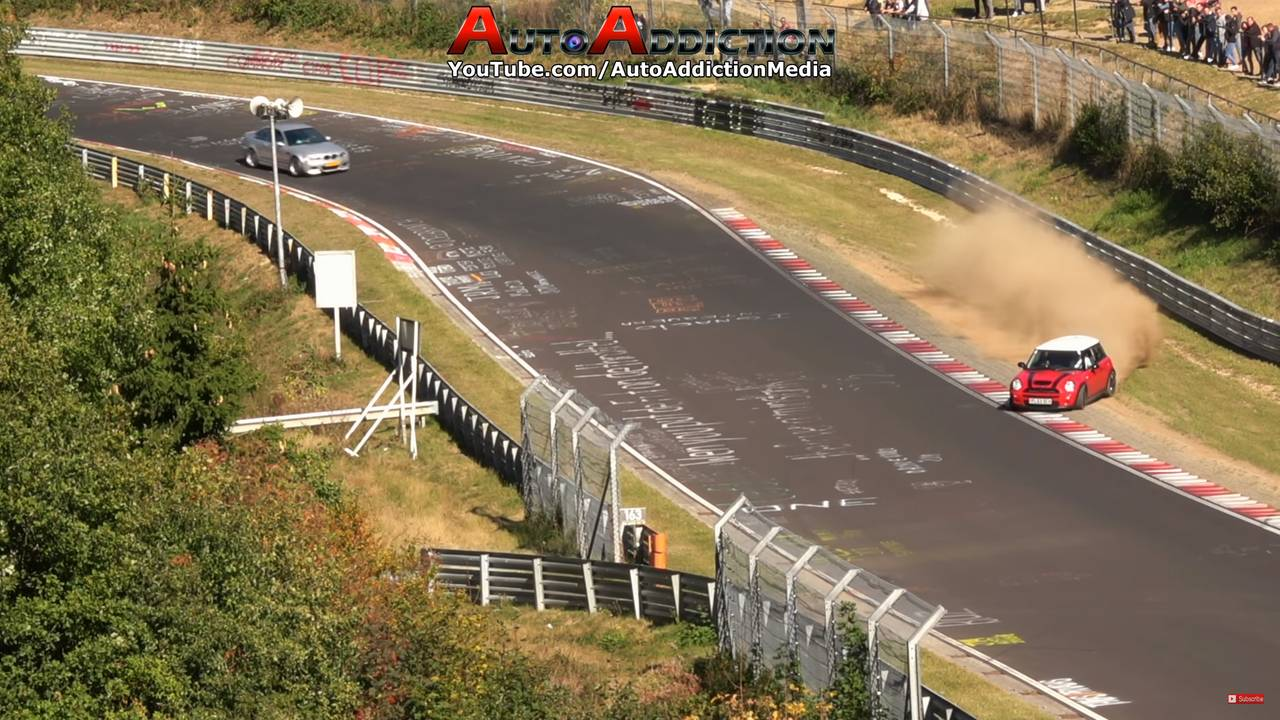 Mini Nürburgring Crash