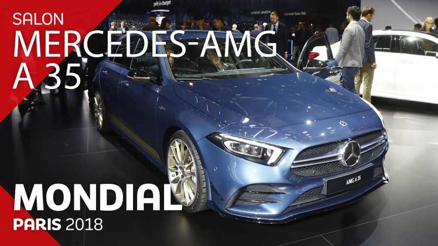 VIDÉO - La Mercedes-AMG A 35 en direct au Mondial 2018
