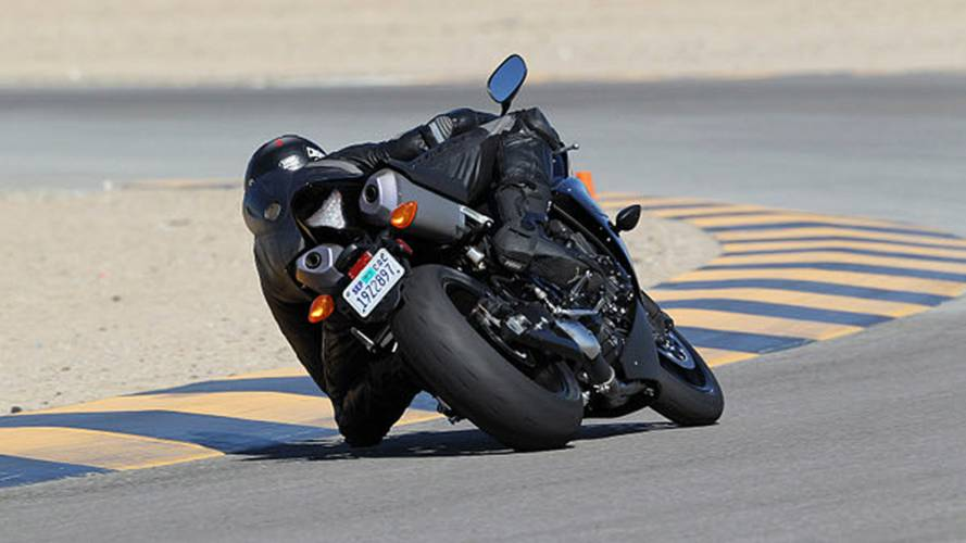 Tier Motorsports shows single-sided front hub on modified Yamaha R1