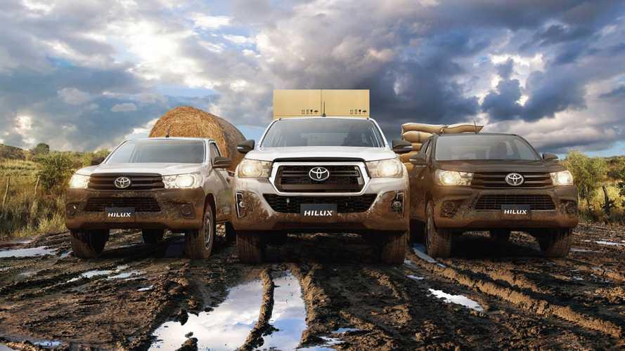 Toyota Hilux tem desconto de até R$ 22,5 mil na Agrishow