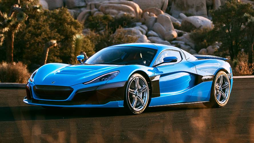 Rimac C_Two California Edition, hypercar da bere
