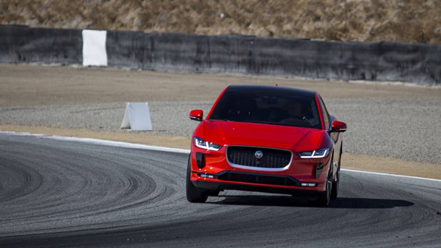 Jaguar I-Pace claims electric car lap record at Laguna Seca