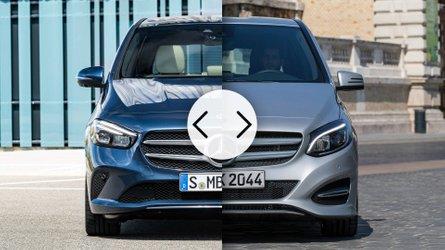 Mercedes B-Klasse: Neu und Alt im Vergleich