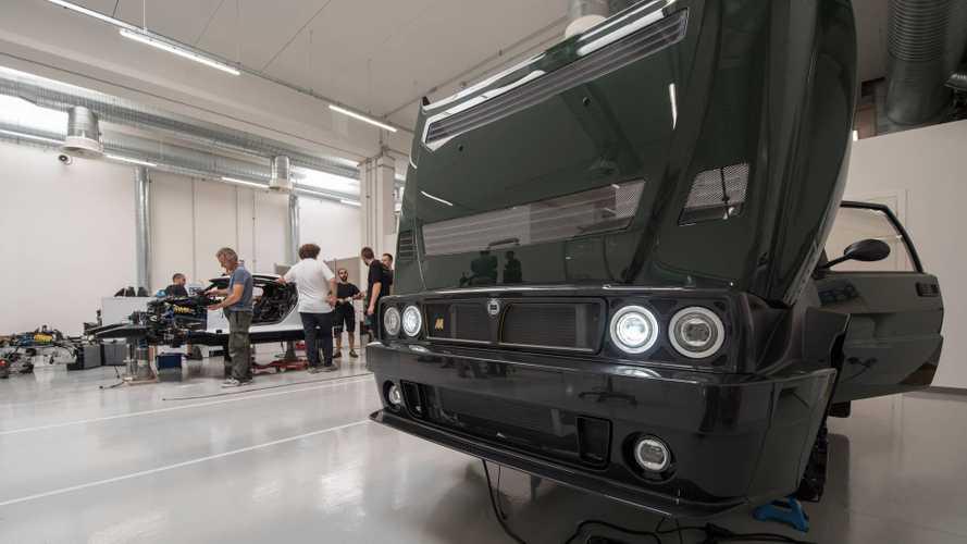 Los secretos del Lancia Delta Futurista
