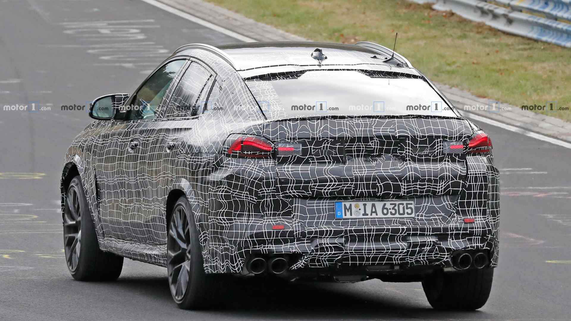 2019 - [BMW] X6 III (G06) - Page 4 Bmw-x6-m-spy-photo