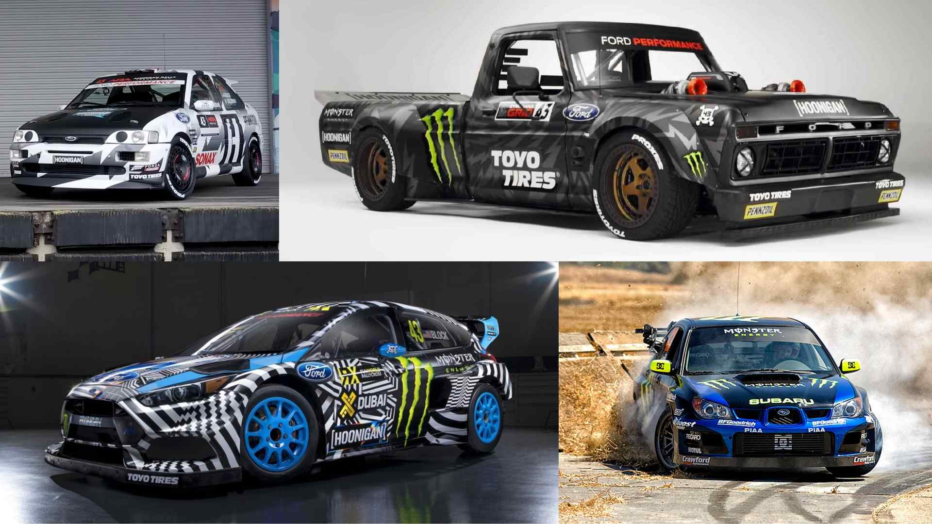 Listing All Trucks >> All 18 Of Ken Block S Crazy Cars And Trucks Ranked