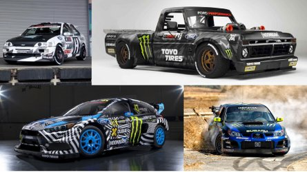 Los 18 coches de Ken Block: ¡de locura!