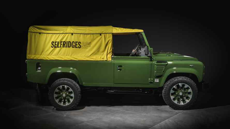 Land Rover desvela un Defender transformado para Selfridges