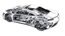 Acura NSX Çizimleri