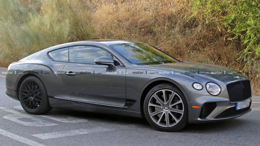 Bentley Continental GT Speed spied for first time?