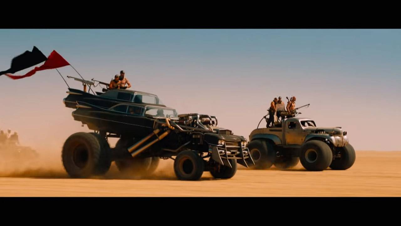 Gigahorse Cadillac From Mad Max: Fury Road