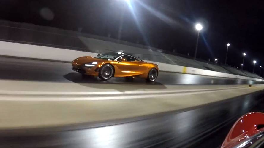 McLaren 720S races twin-turbo Ford GT with 1,000-bhp