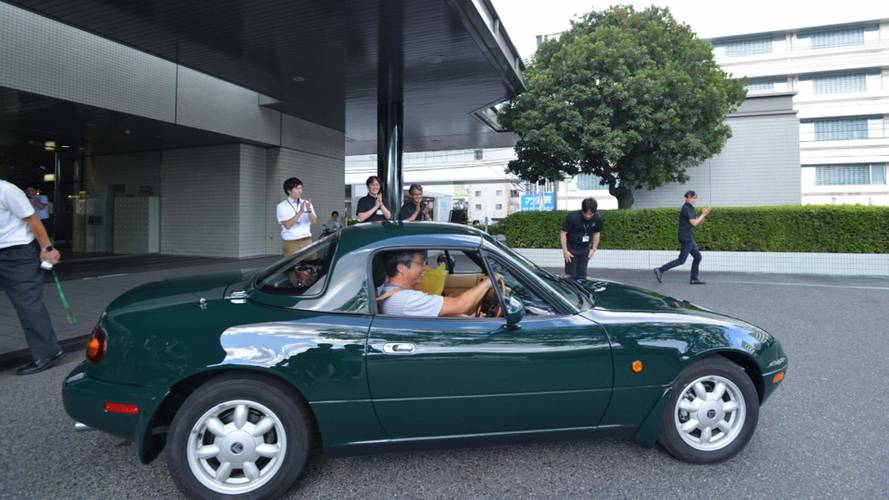 Mazda factory restoration makes old MX-5 good as new